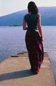 Picture of Full Length Silk Skirt