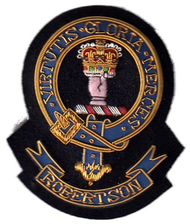 Picture of Robertson Embroidered Clan Crest