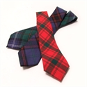 Picture of Tie Necktie Lightweight Wool Tartan