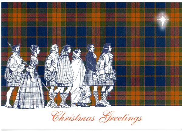 Sta online shop tartan christmas cards tartan christmas cards m4hsunfo