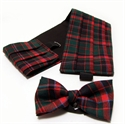 Picture of Cummerbund & Bow -Tie Set Lightweight Wool