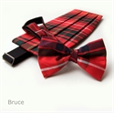 Picture of Cummerbund & Bow -Tie Set Dupion SILK Tartan