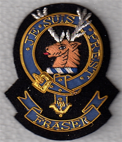 Fraser Clan Coat Of Arms