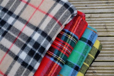 Picture of Travel Rug Tartan, Purled Fringe