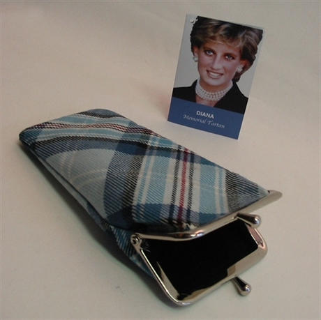 Picture of Diana Memorial Tartan / Diana Rose Tartan -  Glasses Case (Spectacle Case)