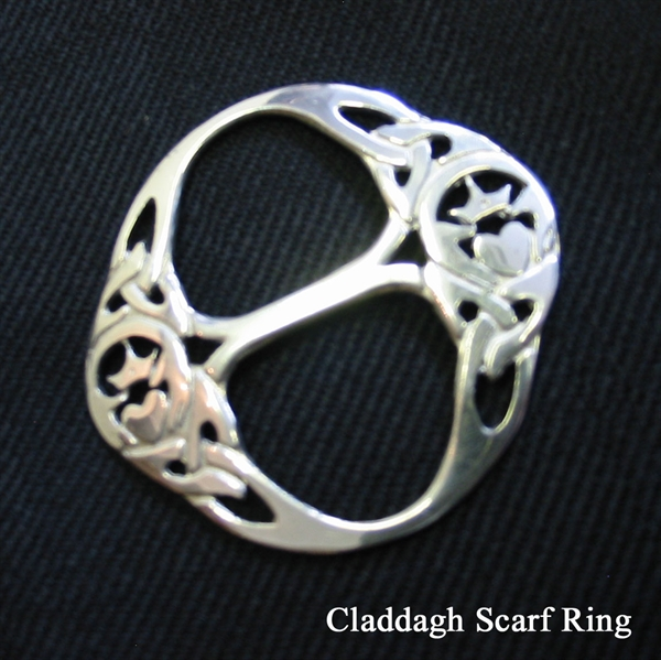 clip scarf slide rings dzhog ebay silver crystal buckle gold ring bhp plated