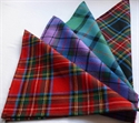 Picture of Square, Pocket Square, Lightweight Tartan