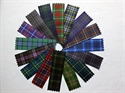 Picture of Ribbon to match Kilt Outfit Hire Tartans, Single Sided - 23 mm