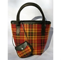 Picture of Strathearn Tartan Handbag - Mini Iona Bucket Style Handbag