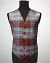 Picture of Waistcoat ( Vest) Tartan Silk Dupion
