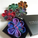Picture of Rosette Brooches, Hand Made, Stock Tartans