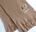 Picture of Long Scarf, Knitted Plain Lambswool, Clan Crested in Your Clan