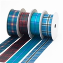 Picture of Tartan Ribbon, Sateen Polyester in 700 Stock-List Tartans, 38mm