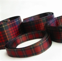 Picture of Tartan Ribbon, ASSORTED-WIDTH Pack, Sateen Polyester, STRIPS
